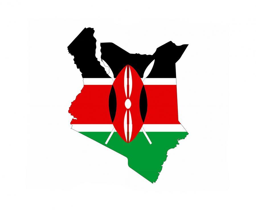 kenya africa flag